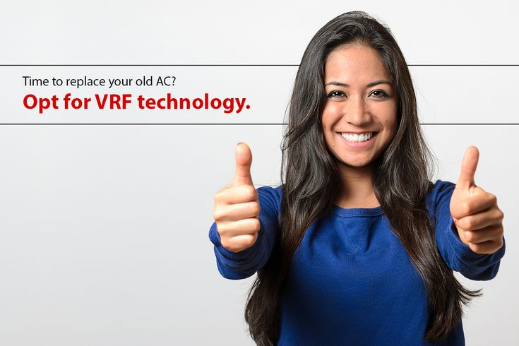 If you're considering replacing the #HVAC system in your home, think of the Variable Refrigerant Flow (#VRF) technology for consistent comfort, quiet operation, and energy efficiency.