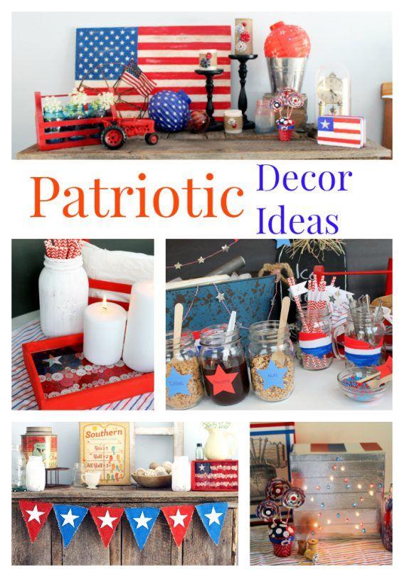 Celebrate Summer With Patriotic Décor