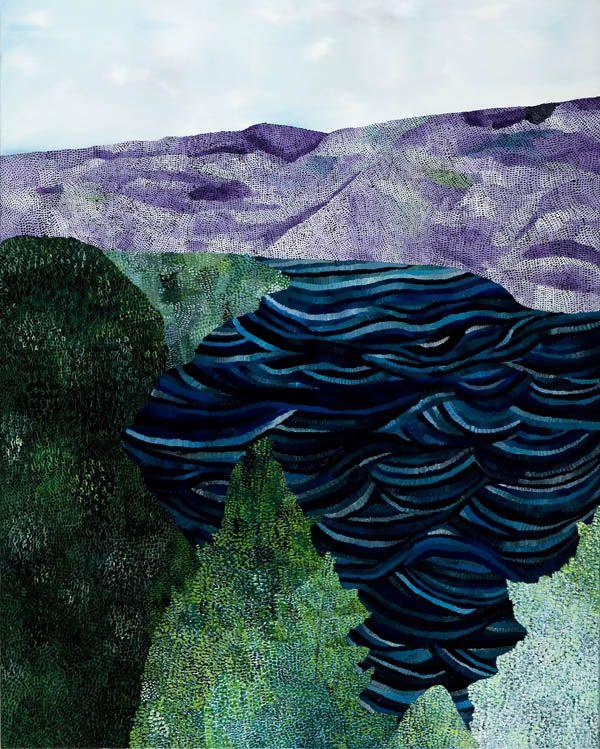 Sally Ross, Purple mountains 2012