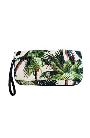 Capri Clutch in Palm Trees by Escape to Paradise