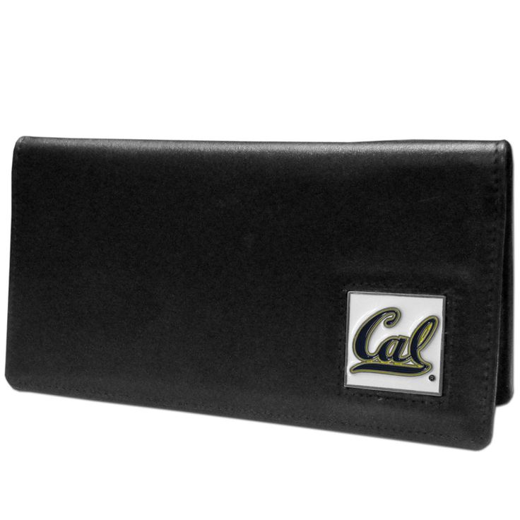 """Checkout our #LicensedGear products FREE SHIPPING + 10% OFF Coupon Code """"Official"""" Cal Berkeley Bears Leather Checkbook Cover - Officially licensed College product Genuine fine grain leather Fits top and side loaded checkbooks Plastic sleeve for duplicate check writing Metal Cal Berkeley Bears emblem with enameled team colors - Price: $22.00. Buy now at https://officiallylicensedgear.com/cal-berkeley-bears-leather-checkbook-cover-cnc56bx"""