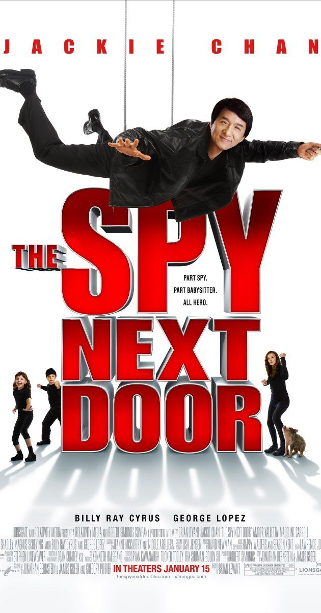 The Spy Next Door (2010) - Family fun movie to watch. Not too violent. B+