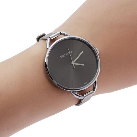 Movement:+Quartz+Movement 5+Colors+for+your+choice steel+lends+this+watch+unparalleled+style Analog+quartz+movement+for+long-lasting+accuracy,best+gift  Color:+black Band+color:+Silver Dial+color:+black Strap+material:+steel Movement:+quartz Dial+size:+37mm+*+thick+in+diameter+10MM Wat...