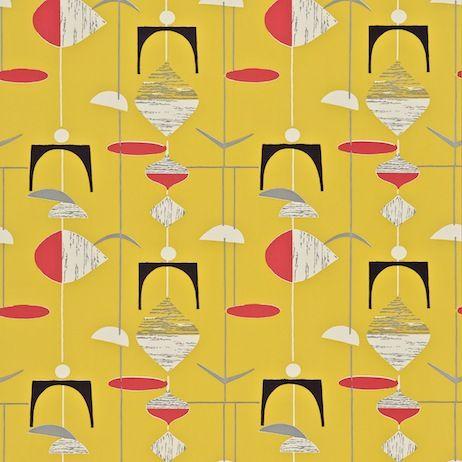 Sanderson - Design details mobiles. 50s