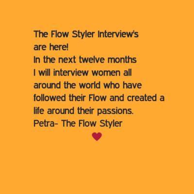SOON TO COME - February Flow Styler Interview with Rina Miriam Drescher - Artist from New York xx http://blog.creativecarrot-coaching.com/#post22