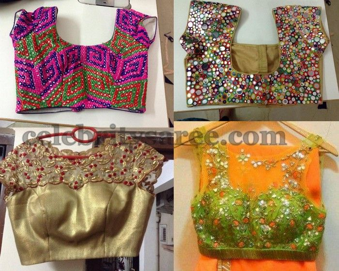 Latest Work Blouse Designs