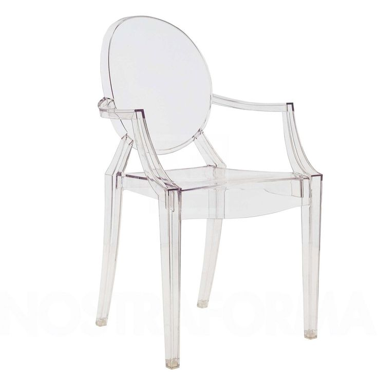Sedia Louis Ghost [a] - Kartell Medio