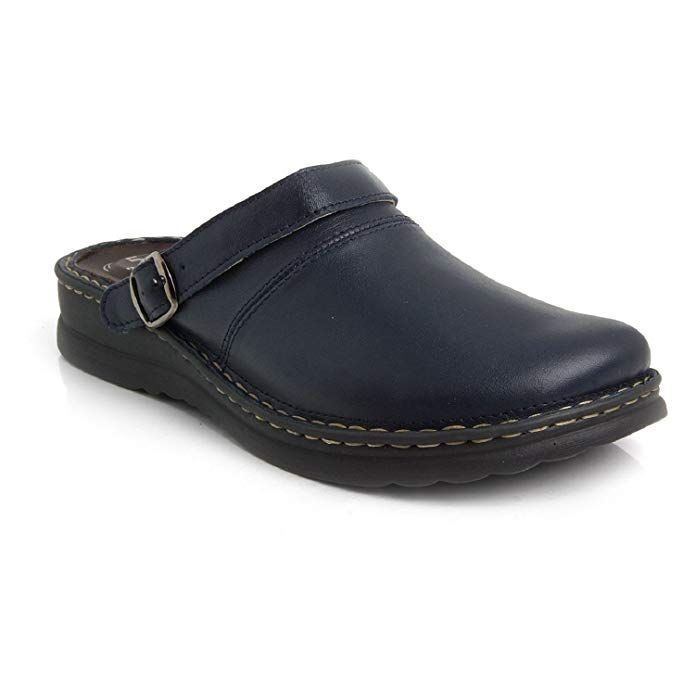 Mens casual shoes, Leather slip ons