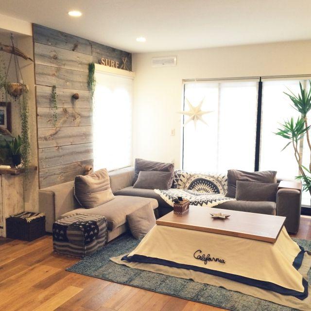 カリフォルニア/植物/ソファー/ソファーまわり/WTW/IKEA…などのインテリア実例 - 2015-12-28 09:29:07 | RoomClip(ルームクリップ)