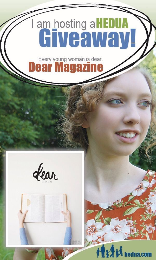 Come enter this awesome giveaway for a teen girls magazine ...
