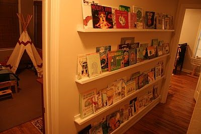 RIbba picture ledges for books