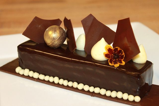 Chocolate Passion Fruit Entremet by Pastry Chef Antonio Bachour, via Flickr