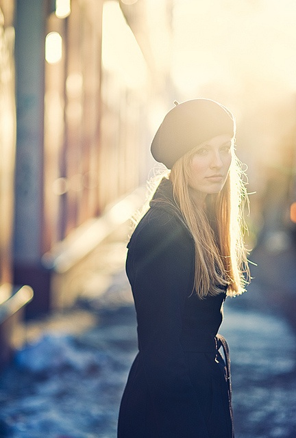I love a beret for Fall !!