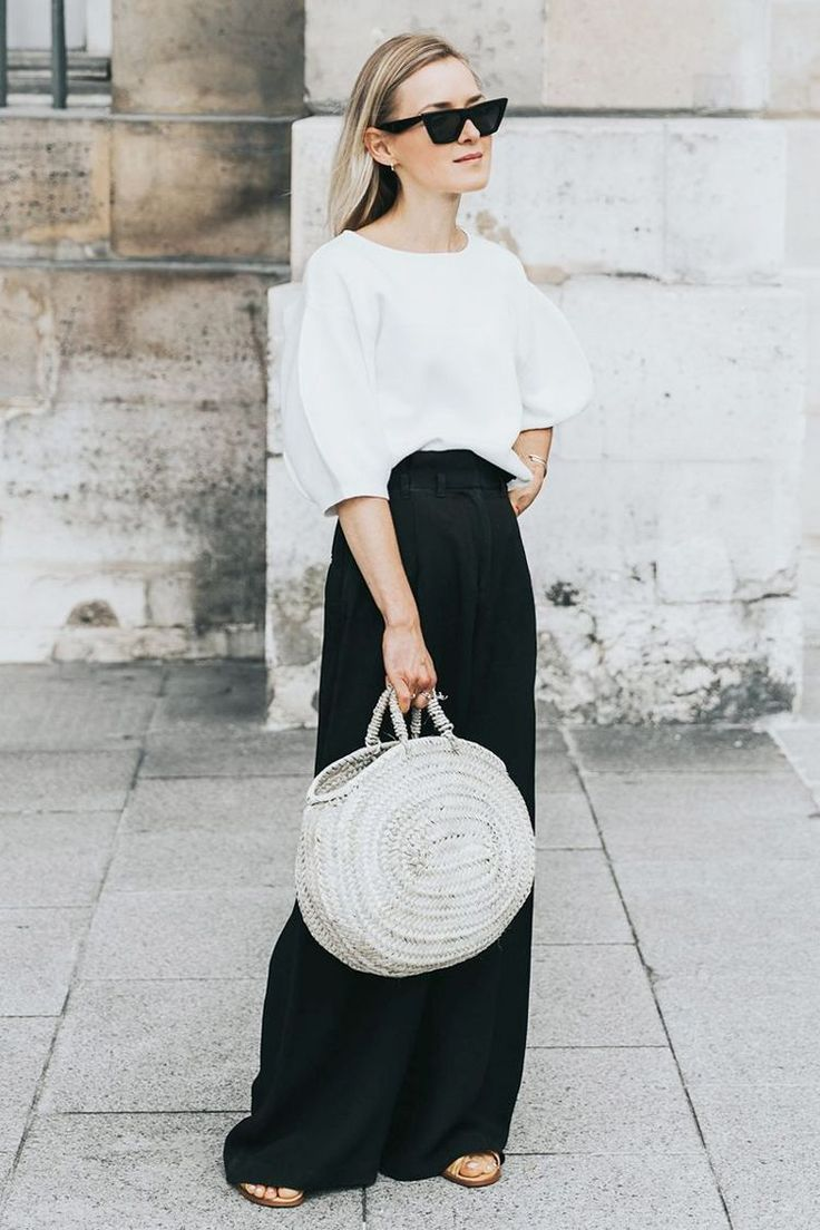 21 Outfits That Look Best With a Black Maxi Skirt