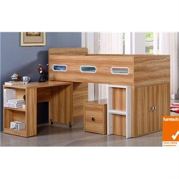 Chester King Single Midi Sleeper with Desk