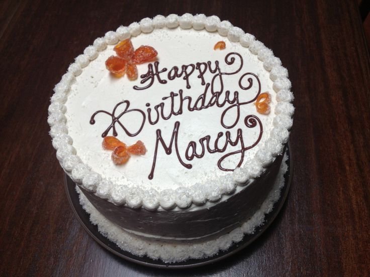 Happy Birthday Marcy Cake