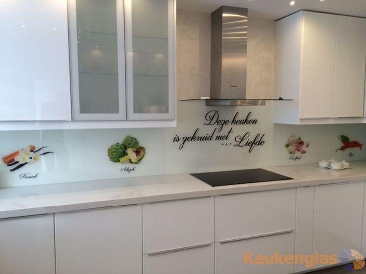 Glazen Achterwand Keuken Eindhoven : Glazen keukenwand 'Deze keuken is gekruid met liefde' in Breda