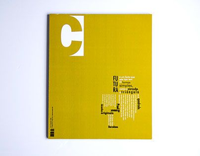 "Check out new work on my @Behance portfolio: ""C Magazine"" http://on.be.net/9645w4"