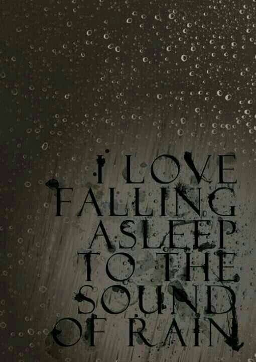 ⇜❊↠ words, fall asleep to the sound of rain