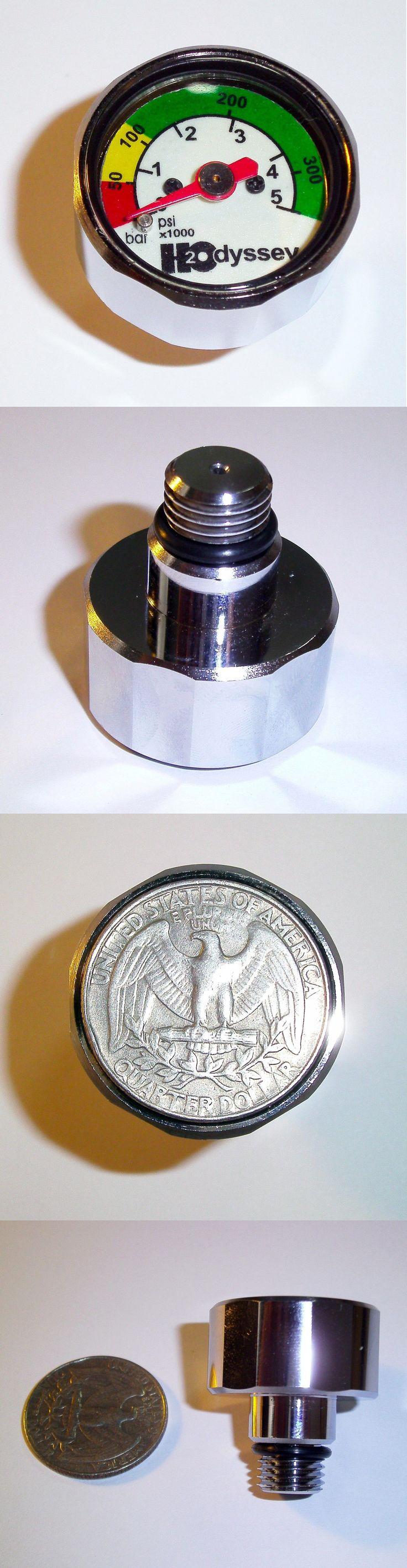 Gauges 74000 7 16 mini spg psi and bar high pressure regulator pony
