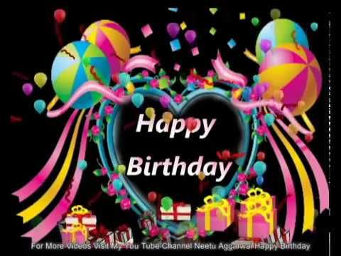 Happy Birthday Wishes,Greetings,Blessings,Prayers,Quotes,Sms,Birthday Song,E-card - YouTube