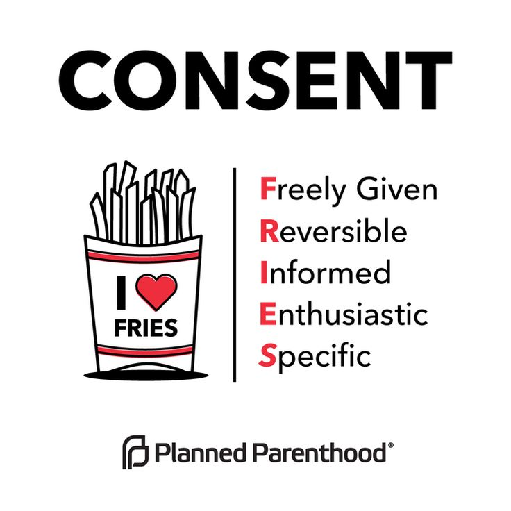 Essay in consent to sex