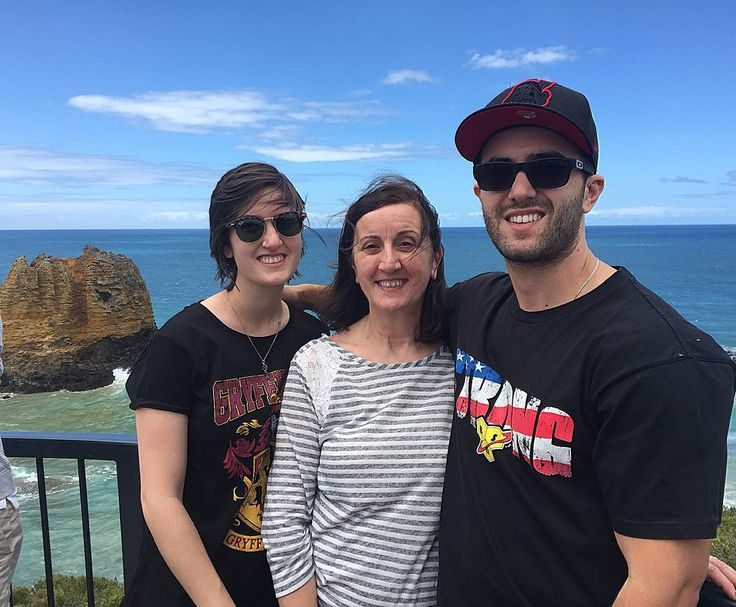 Two siblings and a mother at Aireys Inlet light house. #aireysinlet #lighthouse #ocean #bestmumma by aaaronvf http://ift.tt/1PI0pio