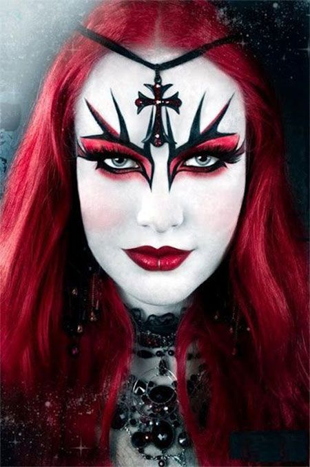 46 best Halloween Witch Make Up images on Pinterest | Witch makeup ...