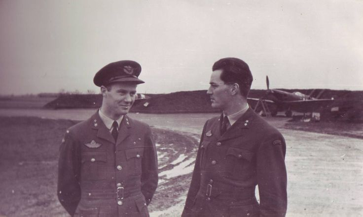 Kaj Birksted and Wilhelm Mohr, 331 and 332 Squadron. Birksted was a Dane fighting with the Norwegian squadrons. Mohr was squadron leader for 332. Both surived the war.