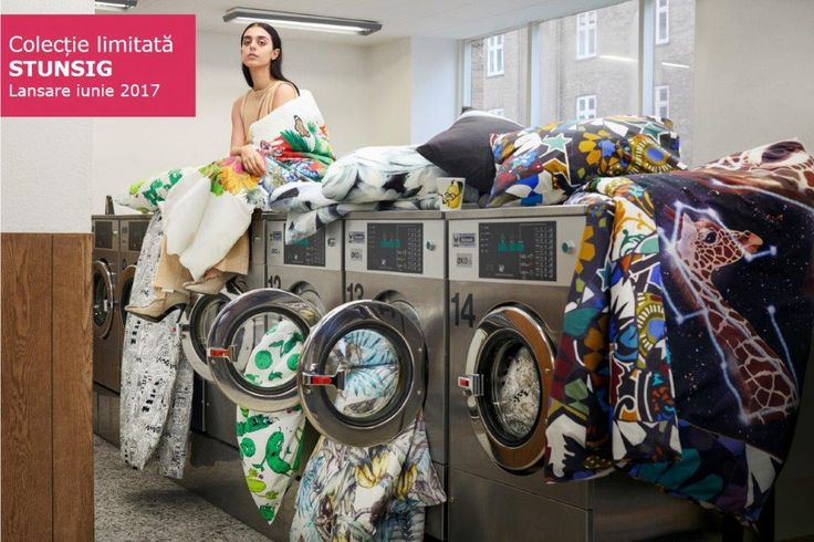 Colecția limitată STUNSIG te așteaptă cu imprimeuri îndrăznețe pe obiecte obișnuite. #colectiilimitateIKEA