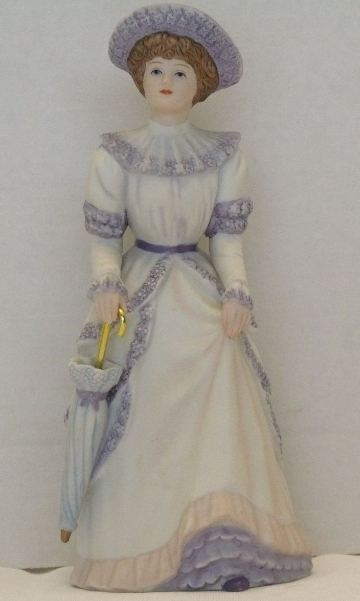 Vintage home interior homco penelope porcelain 1491 Home interiors figurines homco