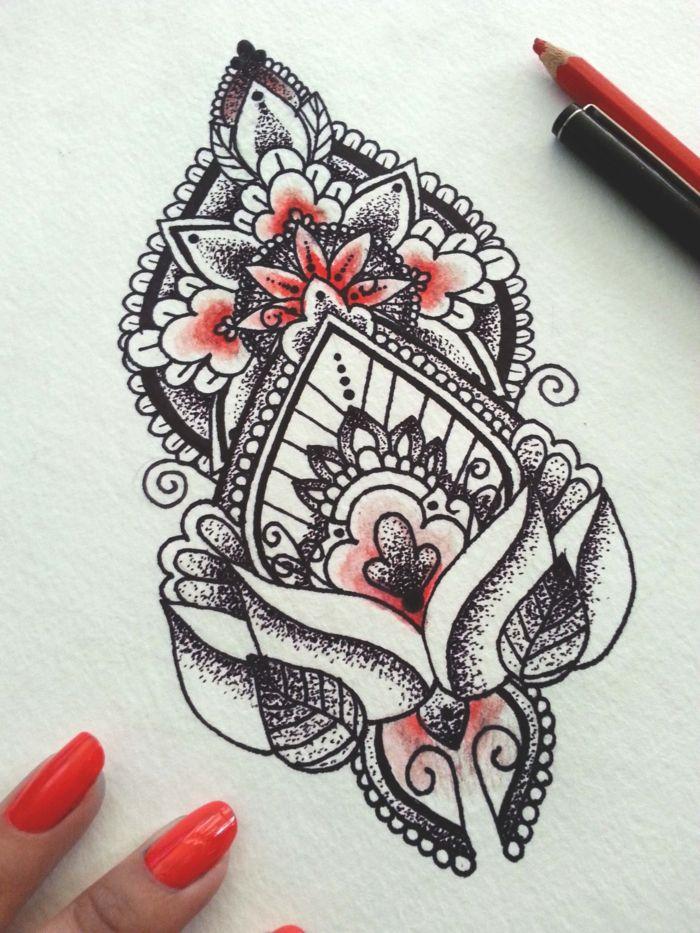 Mandala Tattoo: Wissenswertes und 67 Ideen – Mandala