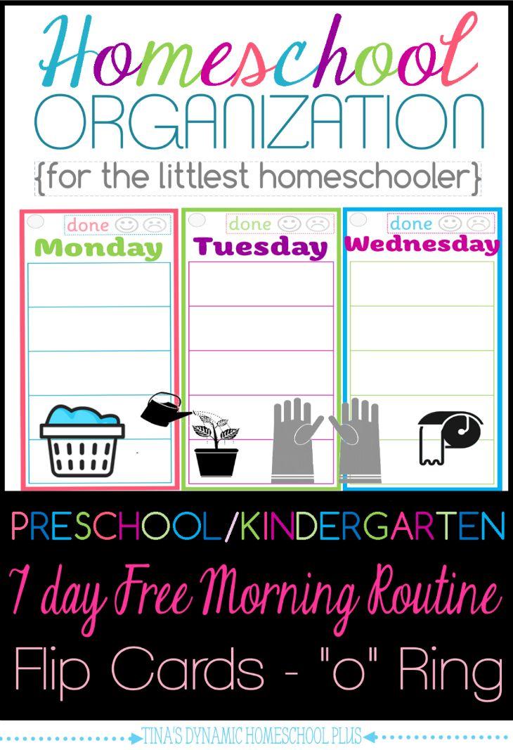 Kindergarten Calendar Routine : Homeschool organization preschool kindergarten free