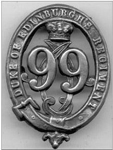 Duke of Edinburgh 99th Cap Badge 1874-1881