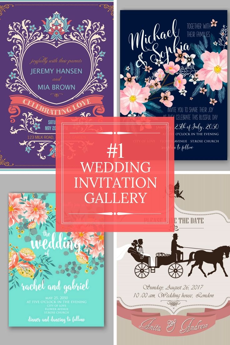 The Best Wedding Invitation Creative Ideas - Browse Our Wedding ...
