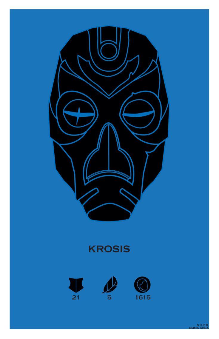 Krosis. Helmets of Skyrim Series. Created @ Strong Jaw Designs