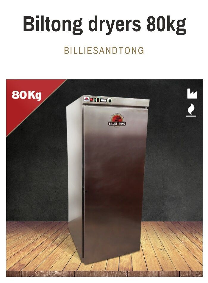 80kg commercial biltong dryer