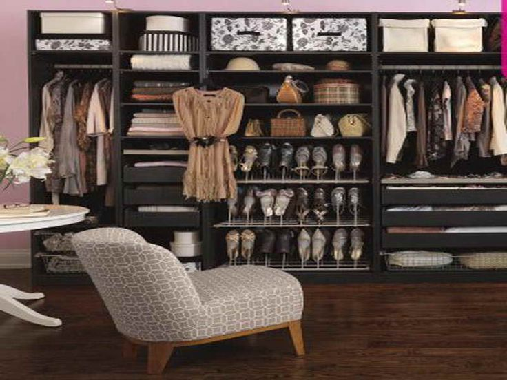 Closet Ideas For Small Walk In Closets