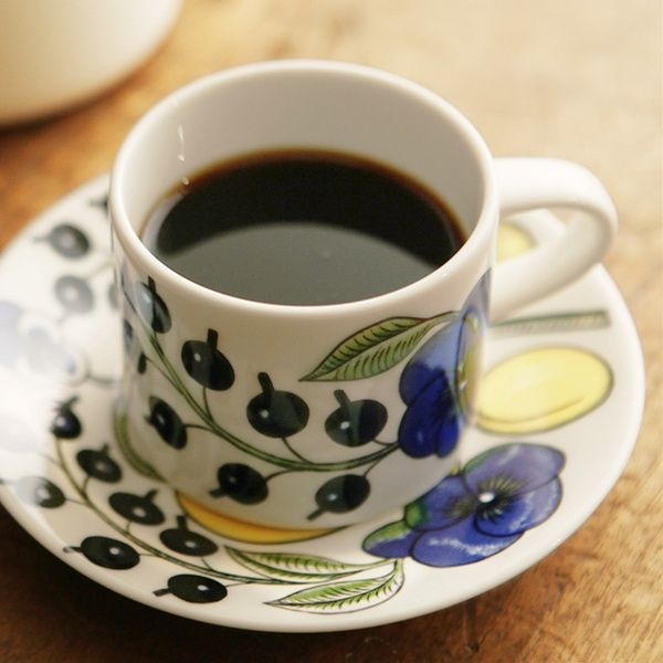 ARABIA(アラビア) Paratiisi コーヒーカップ&ソーサー | アンジェ web shop(本店) | angers (インテリア雑貨 セレクトショップ)