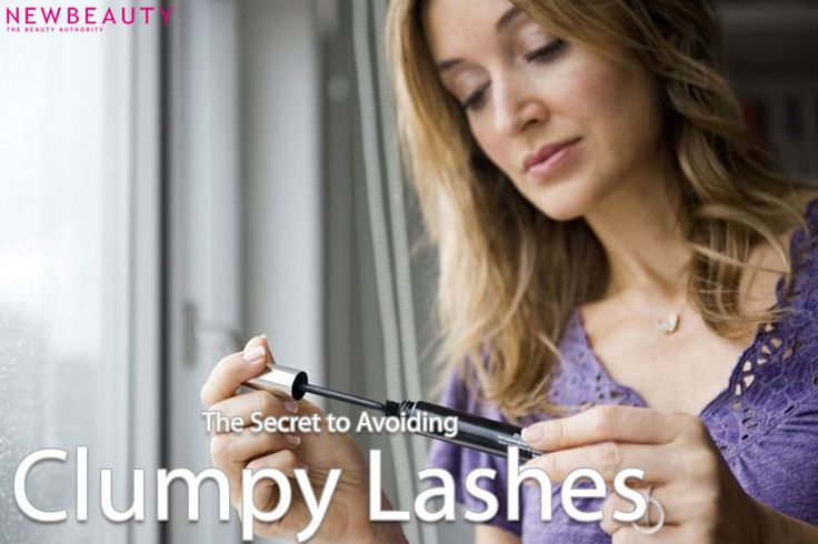 Sometimes, no matter how careful we are with our coats of mascara, clumpy, spidery lashes can happen. Here are tip and tricks to avoid the clump. #mascara