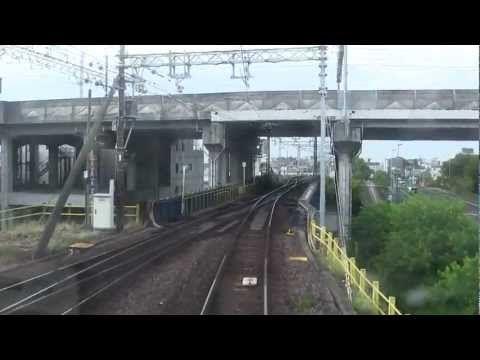 名鉄1000系(1013F)前面展望 名鉄岐阜→豊橋(ノーカット) - YouTube
