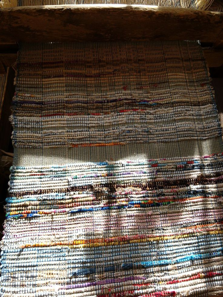 Половики и другие тканины – 10 фотографий