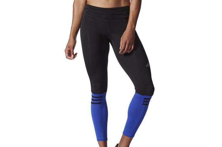 Adidas δίχρωμο γυναικείο κολάν για τρέξιμο