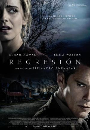 """Alejandro Amenábar """"Regresión"""". España, 2015 . Encuentra esta película en la Mediateca: DVD-Amenabar-REG"""