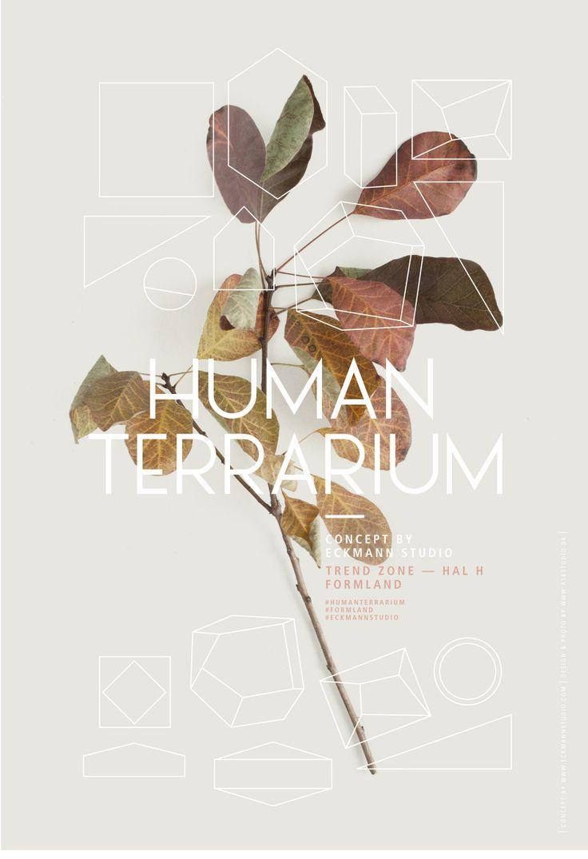 Human Terrarium - Graphic design Anne Støvlbæk Kjær - www.stvlbkkjr.dk