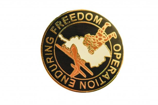 OPERATION ENDURING FREEDOM AIR FORCE PIN