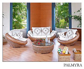Ratanová sedací souprava PALMYRA 2