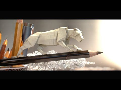 Step into a Miniature World of Animated Paper Wildlife - Sans parole. YouTube