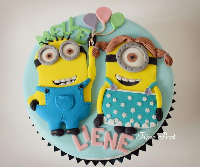 Fijne Pret: Minions cakes