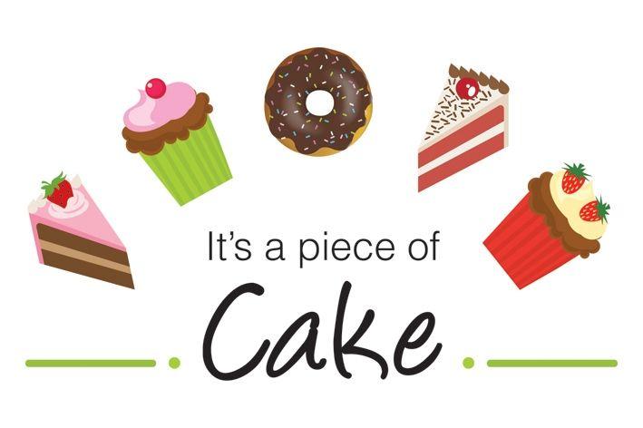 A PIECE OF CAKE = jednoduché, ľahké The exam was a piece of cake. Skúška bola jednoduchá.